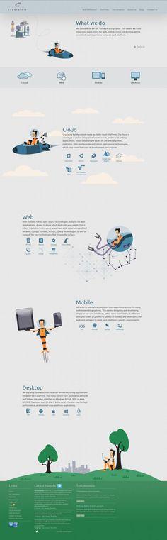 Unique Web Design on the Internet, Crystalnix #webdesign #webdevelopment #website