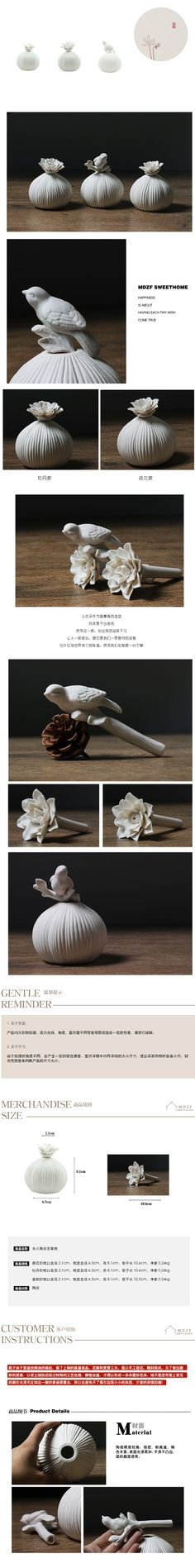Clean ceramic flower aromatherapy bottle fashion essential oil tank peony lotus, air fresher holder, reed diffuser holder-inIncense & Incense Burners from Home & Garden on Aliexpress.com   Alibaba Group