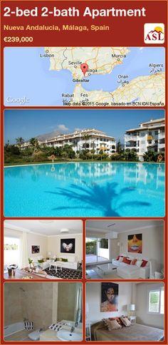 2-bed 2-bath Apartment in Nueva Andalucia, Málaga, Spain ►€239,000 #PropertyForSaleInSpain