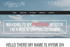 hyemi oh website designer inspiration portfolio