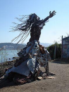*Scrap sculpture