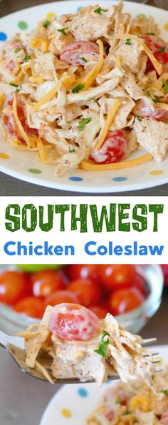 Southwest Chicken Coleslaw Recipe