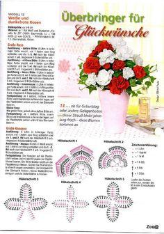 Delicadezas en crochet Gabriela: Flores en ganchillo : Gran colección material imperdible!