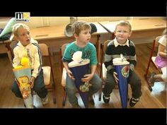"Schultüte Video - For those of you who do not know, there is a tradition for children who are starting 1st grade. Every child receives a ""Schultüte"" on their first day. It will usually be filled with treats and school supplies that will get them through their first day.  This video is in a specific German dialect, discussing some of the new first graders and what the teachers think of the youngsters coming into their new school year."