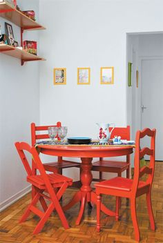 This Homeowner S Dining Room Finally Matches Her Age Pinterest Pink Blue Green And