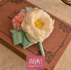 В западном стиле идеи свадьбы красивый брак розовый Тиффани Синий tiffangy жених и невеста бутоньерка карты