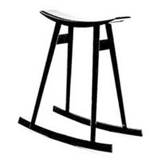 Per Sundstedt Rocking Stool       Rocking stool. Available in different colours.     Material:   Birch