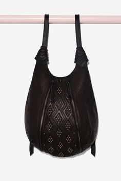 Bright Like a Diamond Leather Backpack | Shop Accessories at Nasty Gal!