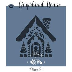 """All stencils are a match for our Cottage Cookie Cutter! Be on the lookout for more houses to come! Stencils measure 5.5"""" x 5.5"""" All of our cutters are made from"""