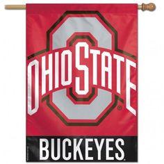 New! Ohio State Buckeyes Banner 27x37 #OhioStateBuckeyes