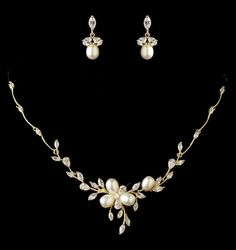 Bridal Necklace Vintage Wedding Jewelry Crystal Bridal Necklace