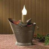 MINI COAL BUCKET LAMP