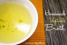 How to Make Vegetable Broth. Waste less produce and create a wonderful soup base by learning how to make vegetable broth. Quick, easy and delicious.