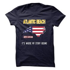 ATLANTIC BEACH - Its where my story begins - #trendy tee #sweatshirt men. GET IT => https://www.sunfrog.com/No-Category/ATLANTIC-BEACH--Its-where-my-story-begins-20805286-Guys.html?68278