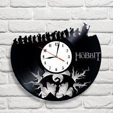 Hobbit design vinyl record wall clock home art playroom bedroom shop 4                                                                                                                                                      More
