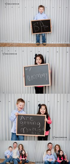 Engagement Photos with the Wee One on http://itsabrideslife.com