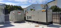 CASE STUDY: Critical power is crucial for support teams within power generation companies. Powerco is one of NZ's electricity providers. 8 x control desks manage power networks from Wellington to The Coromandel, therefore critical for day to day function and also in the event of a power outage this facility needs to be running. See what solution we provided to our client Terra Cat for the New Plymouth location (pictured). #powergeneration #fuelchiefcasestudies #tankonsite… Energy Providers, Power Backup, Power Outage, Custom Paint, Plymouth, Desks, Case Study, Stationary, Mesas