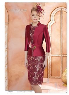 Cocktail, prom, evening, wedding dresses and godmother gowns return to high fashion, lace mixed with gauze and jewels. Haute couture at your fingertips. Mother Of Groom Dresses, Mothers Dresses, Mother Of The Bride, Bride Dresses, Elegant Dresses, Beautiful Dresses, Formal Dresses, Dress Patterns, African Fashion