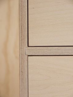 Leonard sideboard in pale grey Formica / &New - Modern British Furniture Plywood Interior, Plywood Furniture, Furniture Plans, Furniture Design, Barbie Furniture, Garden Furniture, Kitchen Furniture, Furniture Movers, Furniture Stores