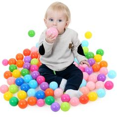Mother & Kids Strong-Willed Cartoon Dolphin Pattern Baby Ball Pit Foldable Washable Toy Pool Children Hexagon Ocean Game Play Tent House Baby Playing Pool