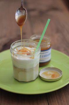 Moka frappé à la vanille et au caramel