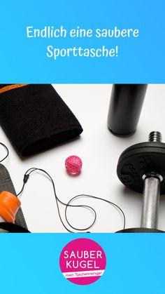 Die Sauberkugel sorgt für Ordnung in der Sporttasche! 💪🏼#sauberkugel #handtasche #tasche #taschenliebe #musthave #geschenk #geschenkidee #sport #fitness #sporttasche Sport Fitness, Kugel, Gym Bag, Handbags, Gift