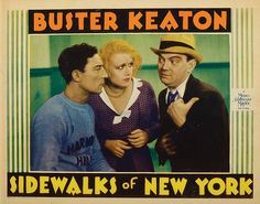 Buster Keaton, Cliff Edwards, and Anita Page in Sidewalks of New York (1931)