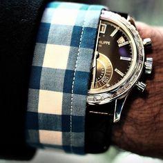 Patek Philippe Platinum Annual Calendar Chronograph
