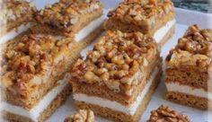 Honig-Nuss-Schnitten – Himmel im Mund Honey Nut Slices – Sky in the mouth Cupcake Recipes, Cookie Recipes, Snack Recipes, Snacks, Easy Smoothie Recipes, Easy Smoothies, Gateaux Cake, Pecan Recipes, Pumpkin Spice Cupcakes