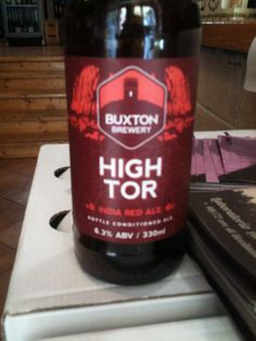 High Tor, Buxton ,Red IPA, UK