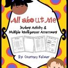 This is an activity I created to use to get to know new students.  I wanted to learn about them and find out how they learn!  There is a self-portr...
