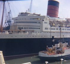 The Cunard - White Star liner QUEEN ELIZABETH was launched in 1938 and survived until she was destroyed by fire at Honk Kong in January 1972.