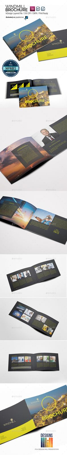 Creative  Corporate Trifold Brochure Template Pinterest - product data sheet template