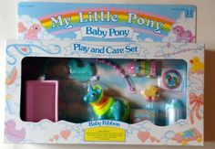 My Little Pony G1 European Exclusive MIB Nbbe Baby Ribbon Super Rare!