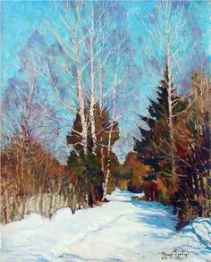 Winter Landscape - Igor Grabar