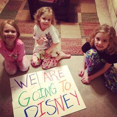 Cute puzzle idea to surprise the kids   Watch Out, Disney… We Are Coming!