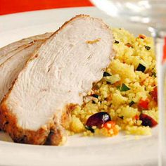 Moroccan Turkey with Cranberry Couscous Recipe Main Dishes with ground ...