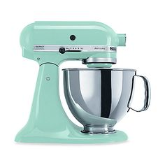 KitchenAid 5-Quart Artisan Stand Mixer...all I've ever wanted. SO MANY COLORS. Yellow is preferred. :)