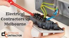 Hire Electrical Contractors in Melbourne and get professional and reliable services at competitive price. We are expert in repairing power points or installing new ones. We also help you to install new appliances, like TVs, Foxtel, ovens, air conditioning, or surround sound systems. With the years of experience in the industry, we have become the one stop solution for all your electrical repair and maintenance services. For more details, visit our website.