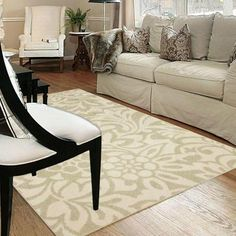 $187.00 Mohawk Home Simpatico Biscuit Starch 8 ft. x 10 ft. Area Rug-301293 - The Home Depot