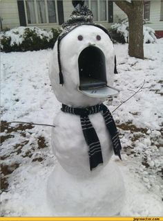 _[ ]_ ('O') (    ) (    ) #lol #snowman #christmas
