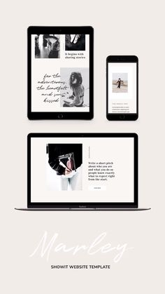 Web design for professional creatives who love to launch a stylish website to perfectly match their brand. Marley highlights your work in a polished and playful way radiating a minimalist editorial vi Web Design Trends, Design Web, Websites Design, Layout Design, Design Sites, Clean Web Design, Modern Web Design, Logo Design, Design Blog