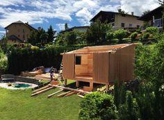 Mise en place d'une construction Solaire Box en ossature bois passive dans le sud de la France