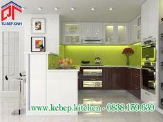 Phòng ăn sang trọng với tủ bếp thanh lịch và tinh tế PTL167