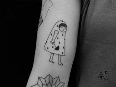 Tatuagens minimalistas por Axel Ejsmont: http://followthecolours.com.br/tattoo-friday/tatuagens-minimalistas-por-axel-ejsmont/