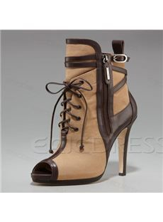 Gorgeous Stilletto Heels Women Shoes with Shoelace