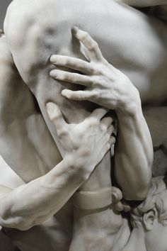 Jean Baptiste Carpeaux, Ugolino and His Sons; detail