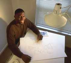If you know Terry Crews as a football player on an actor, then you'll be amazed by his creative side. It turns out Terry is a well-known painter and furniture designer, too! Fine Art, Inspiration, Illustration, Creative, Fine Arts Major, Artwork, Arts And Crafts, Geeky Art, Photo Galleries