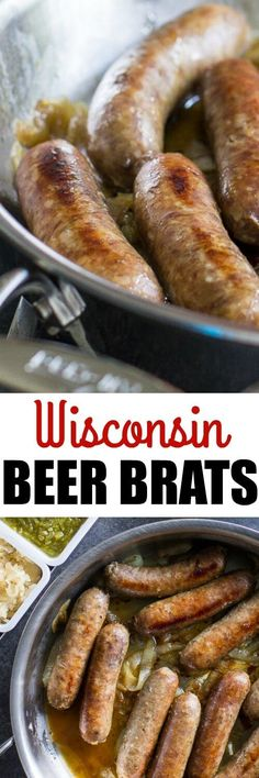 Beer Brats are the b
