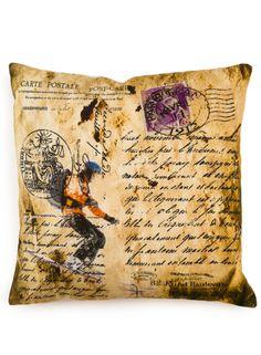 A Loja do Gato Preto | Capa de Almofada Ski / Lettering #alojadogatopreto Burlap, Vintage World Maps, Reusable Tote Bags, Decoration, Mantle, Throw Pillows, Black, Craft, Gatos